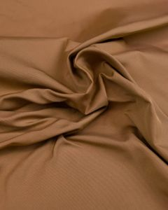 Silk Blend Taffeta Fabric - Sepia Gold