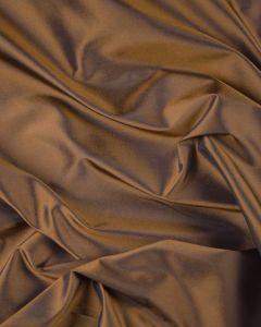 Silk Blend Taffeta Fabric - Nutmeg Shimmer