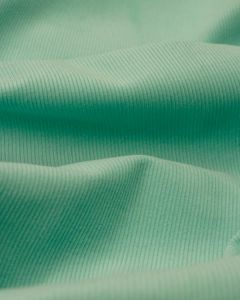 Pure Cotton Needlecord Fabric - Aqua