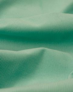 REMNANT Aqua Cotton Corduroy Fabric - 140cm x 150cm