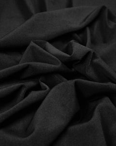 Polyester Jersey Fabric - Black