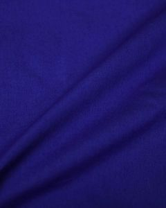 Cotton Poplin Fabric - Royal Blue