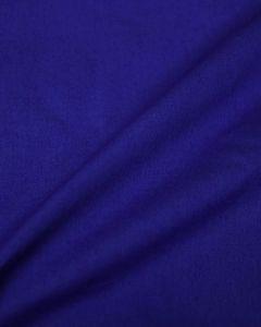 Cotton Poplin Fabric - Royal Blue