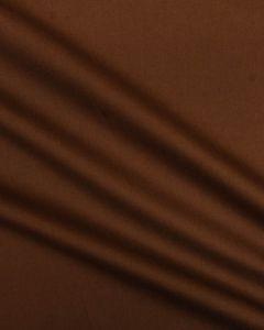 Cotton Poplin Fabric - Chocolate Brown