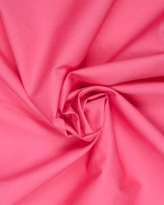Cotton Poplin Fabric - Hot Pink