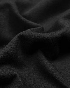Ponte Jersey Fabric - Black