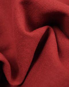 Linen & Cotton Blend Fabric - Harissa