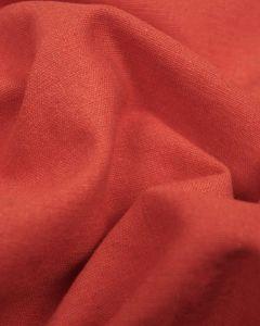 Linen & Cotton Blend Fabric - Paprika