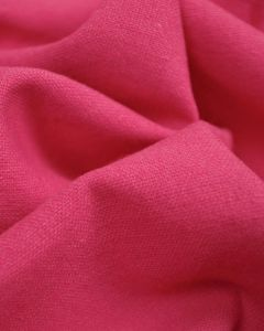 Linen & Cotton Blend Fabric - Dragonfruit
