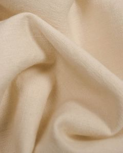 Linen & Cotton Blend Fabric - Latte