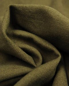 Linen & Cotton Blend Fabric - Olive