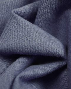Linen & Cotton Blend Fabric - Periwinkle
