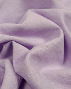 Linen & Cotton Blend Fabric - Lilac
