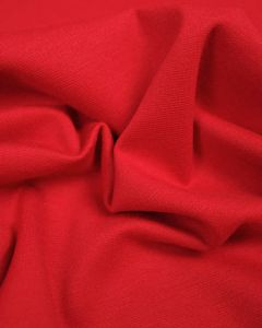 Ponte Jersey Fabric - Bright Red