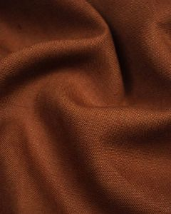 Pure Linen Fabric - Spice