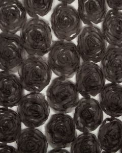 Rose Tulle Fabric - Gunmetal