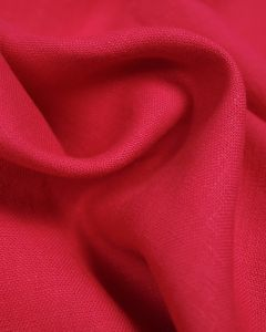 Pure Linen Fabric - Dragonfruit