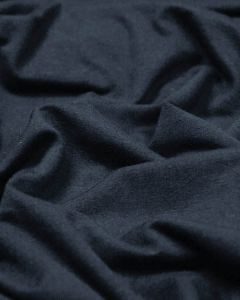 Organic Cotton Jersey Fabric - Navy Blue