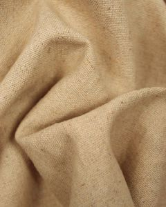 Linen & Cotton Blend Fabric - Natural