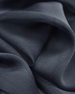 Polyester Chiffon Fabric - Slate Blue