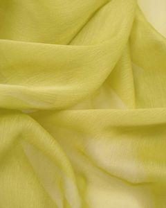 Polyester Chiffon Fabric - Pale Chartreuse