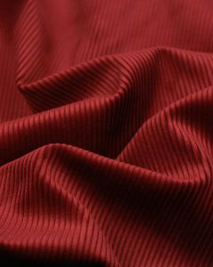 Pure Cotton Corduroy Fabric - Red