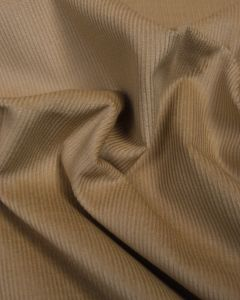 Pure Cotton Needlecord Fabric - Sandstone
