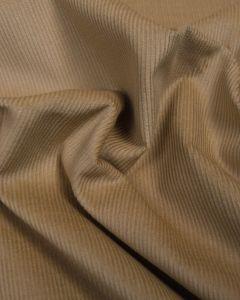 REMNANT Sandstone Cotton Needlecord Fabric - 60cm x 150cm