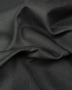 Pure Cotton Needlecord Fabric - Grey