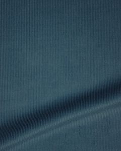 Pure Cotton Needlecord Fabric - Airforce Blue