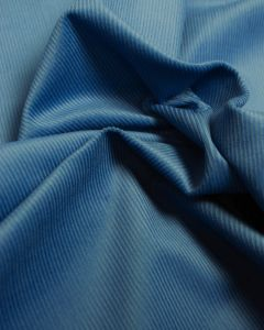Pure Cotton Needlecord Fabric - Sky Blue
