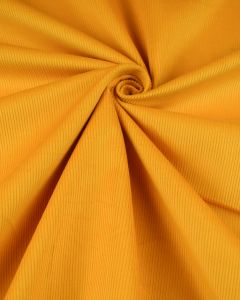 Pure Cotton Needlecord Fabric - Sunshine Yellow