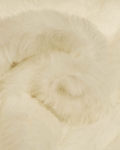 Faux Fur Fabric - Winter White