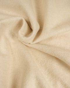 Boiled Wool Blend Jersey Fabric - Oatmeal