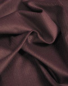 Pure Cotton Needlecord Fabric - Purple