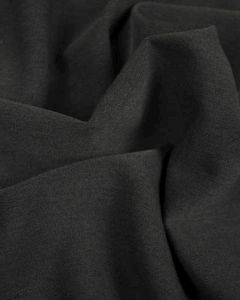 Poly Viscose Fabric - Charcoal