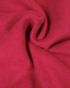 Wool Blend Coating Fabric - Cerise