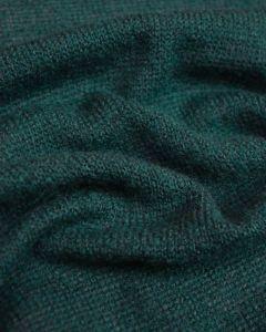 Wool Blend Jersey Knit Fabric - Teal