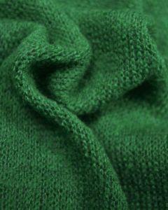 Wool Blend Jersey Knit Fabric - Jade