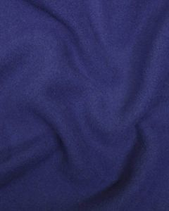 Heavy Brushed Wool Coating Fabric - Blue