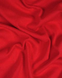 Organic Cotton Jersey Fabric - Red