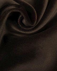 Cotton Velvet Fabric - Brown