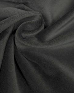 Cotton Velvet Fabric - Silver Grey