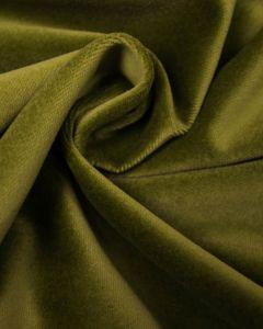 Cotton Velvet Fabric - Lime Green