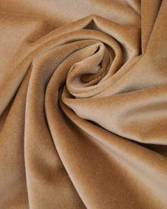 Cotton Velvet Fabric - Cashmere