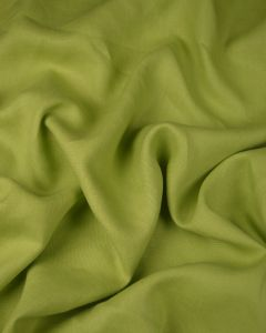Pure Linen Fabric - Lime Green