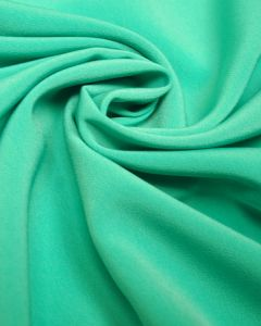 Luxury Crepe Fabric - Aqua