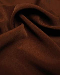Luxury Crepe Fabric - Chocolate Brown
