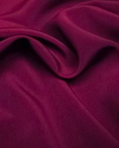 Luxury Crepe Fabric - Foxglove