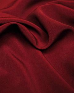Luxury Crepe Fabric - Merlot